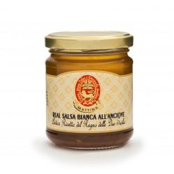 REAL SALSA BIANCA ALL'ANCIOVE VASO GR. 200