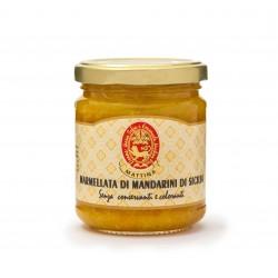 MARMELLATA DI MANDARINI DI SICILIA GR 200