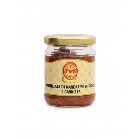 MARMELLATA DI MANDARINI DI SICILIA E CANNELLA GR 200