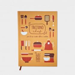 Taccuino Chef - Ricettario da Cucina