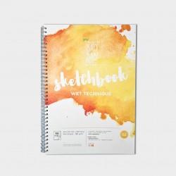 Sketchbook A4 Wet