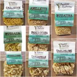 Cesto Pasta di Semola di Grano Duro Siciliano Passione & Tradizioni