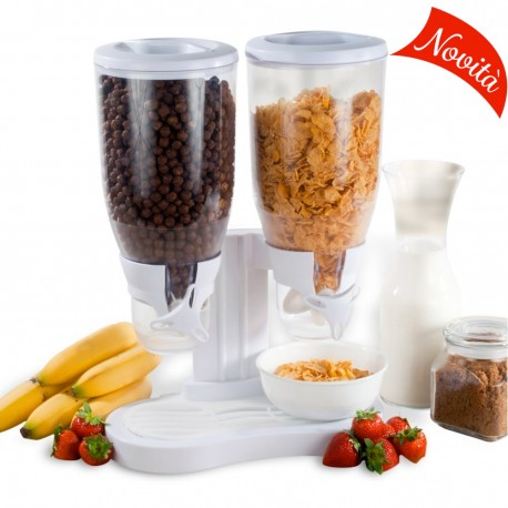 Dispenser Cereali / Muesli Doppio