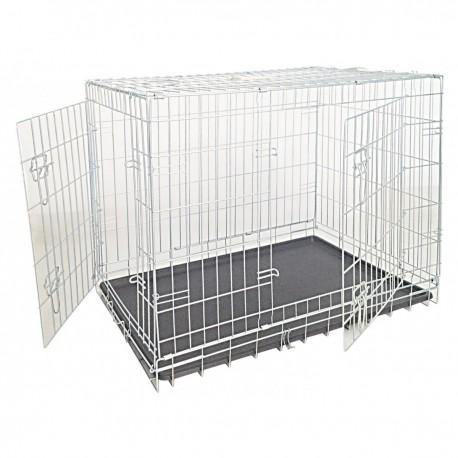 Box zincato per Cani