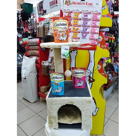 Tiragraffi a colonna per gatti Leo
