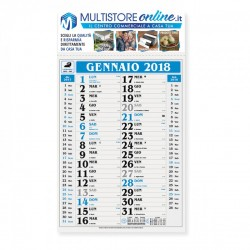 Calendari Olandesi con Stampa a Colori