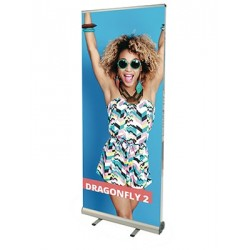 Roll-up Dragonfly bifacciale 85x200